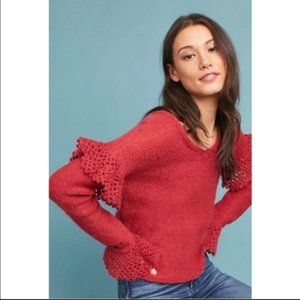 NWT Anthropologie Intropia sweater sz L